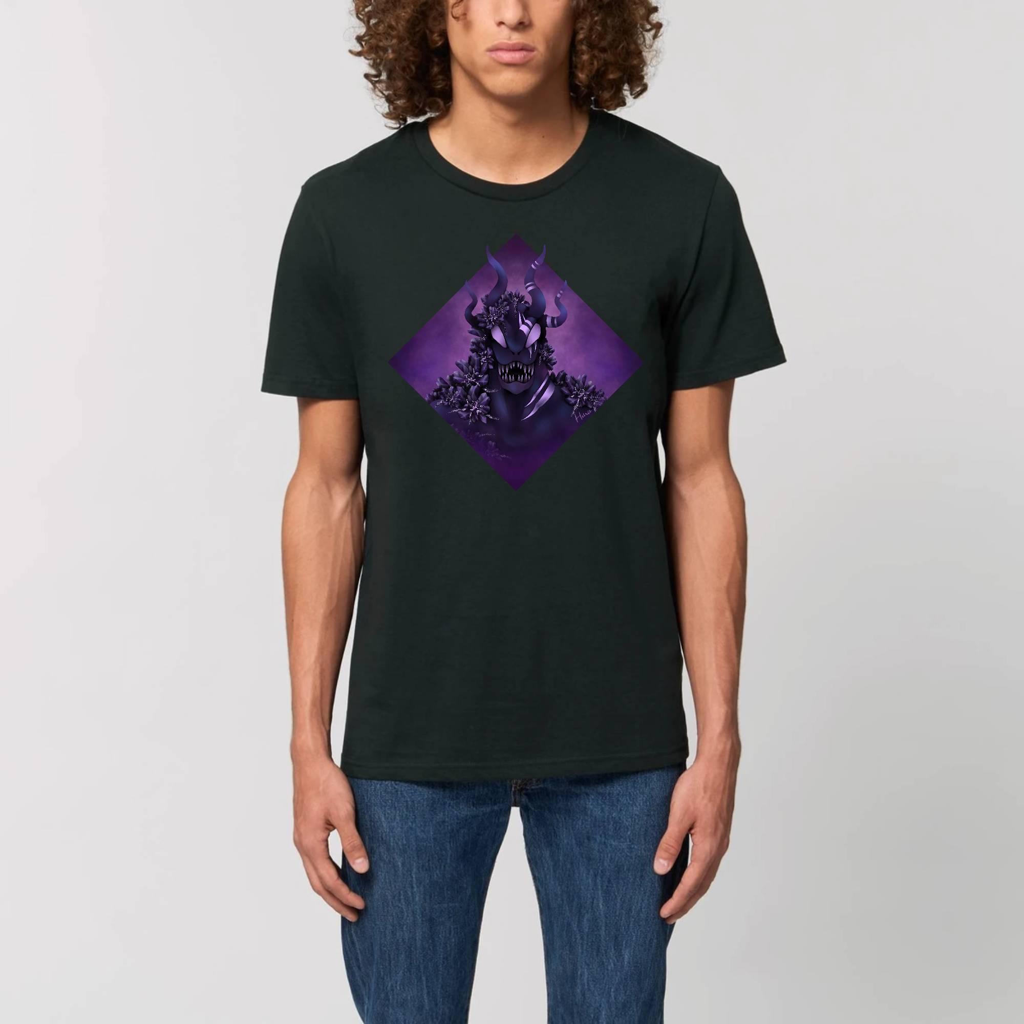 Purple Monster - T-shirt Unisexe Bio CREATOR