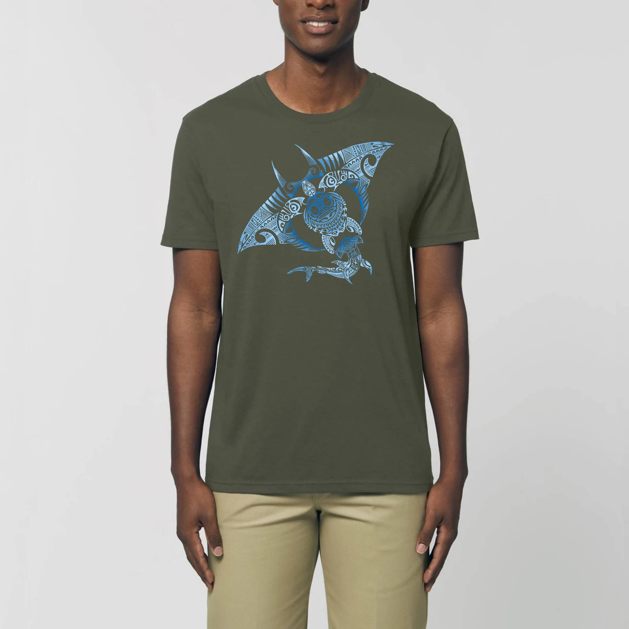 4 Elements Shadows - T-shirt Unisexe Bio ROCKER